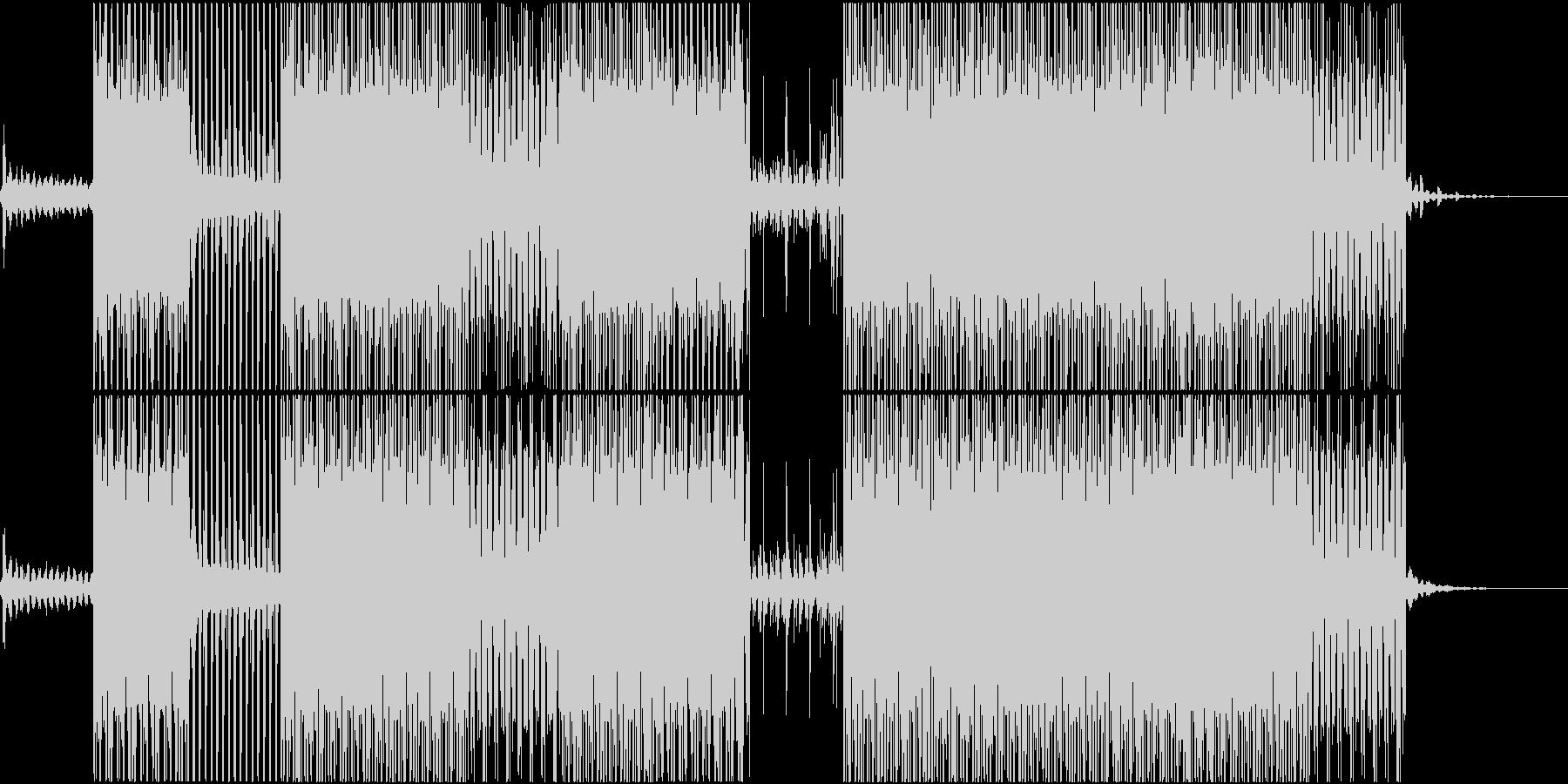 ラッシュアワーのイメージの未再生の波形