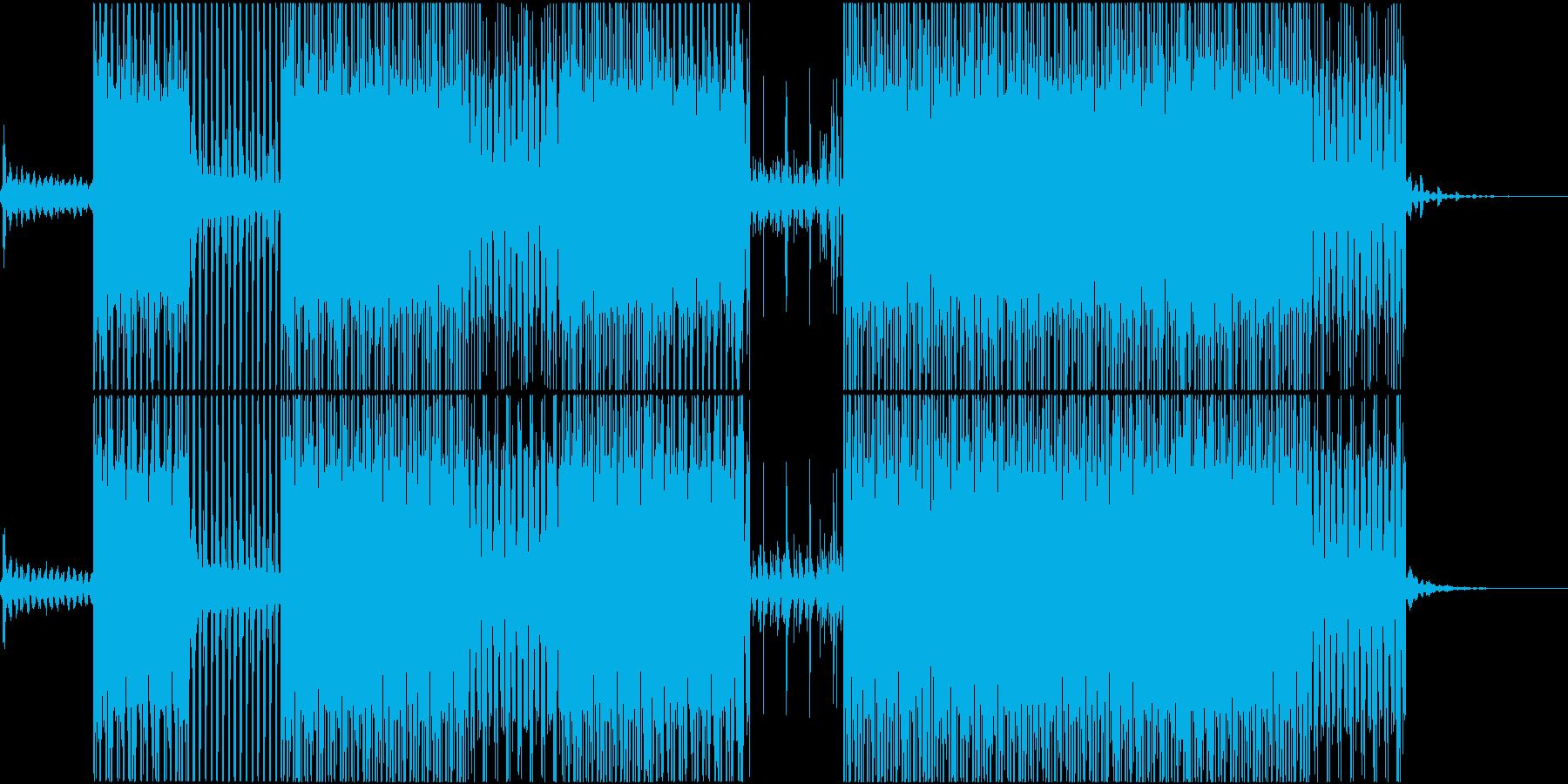 ラッシュアワーのイメージの再生済みの波形
