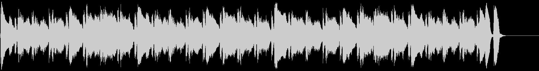 動画広告 30秒 フルートB 日常の未再生の波形
