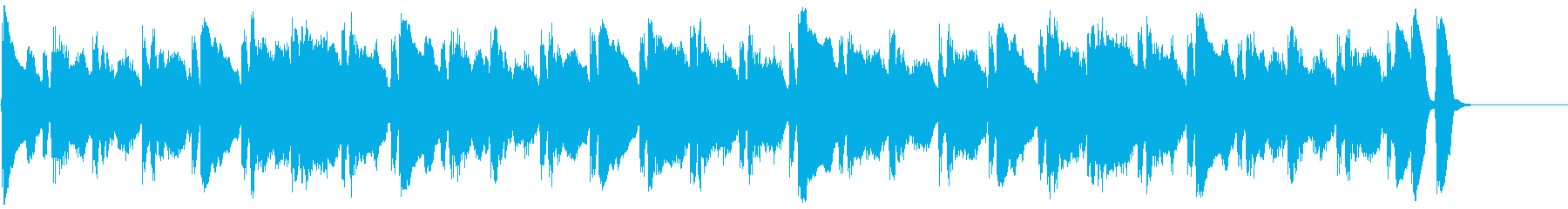 動画広告 30秒 フルートB 日常の再生済みの波形