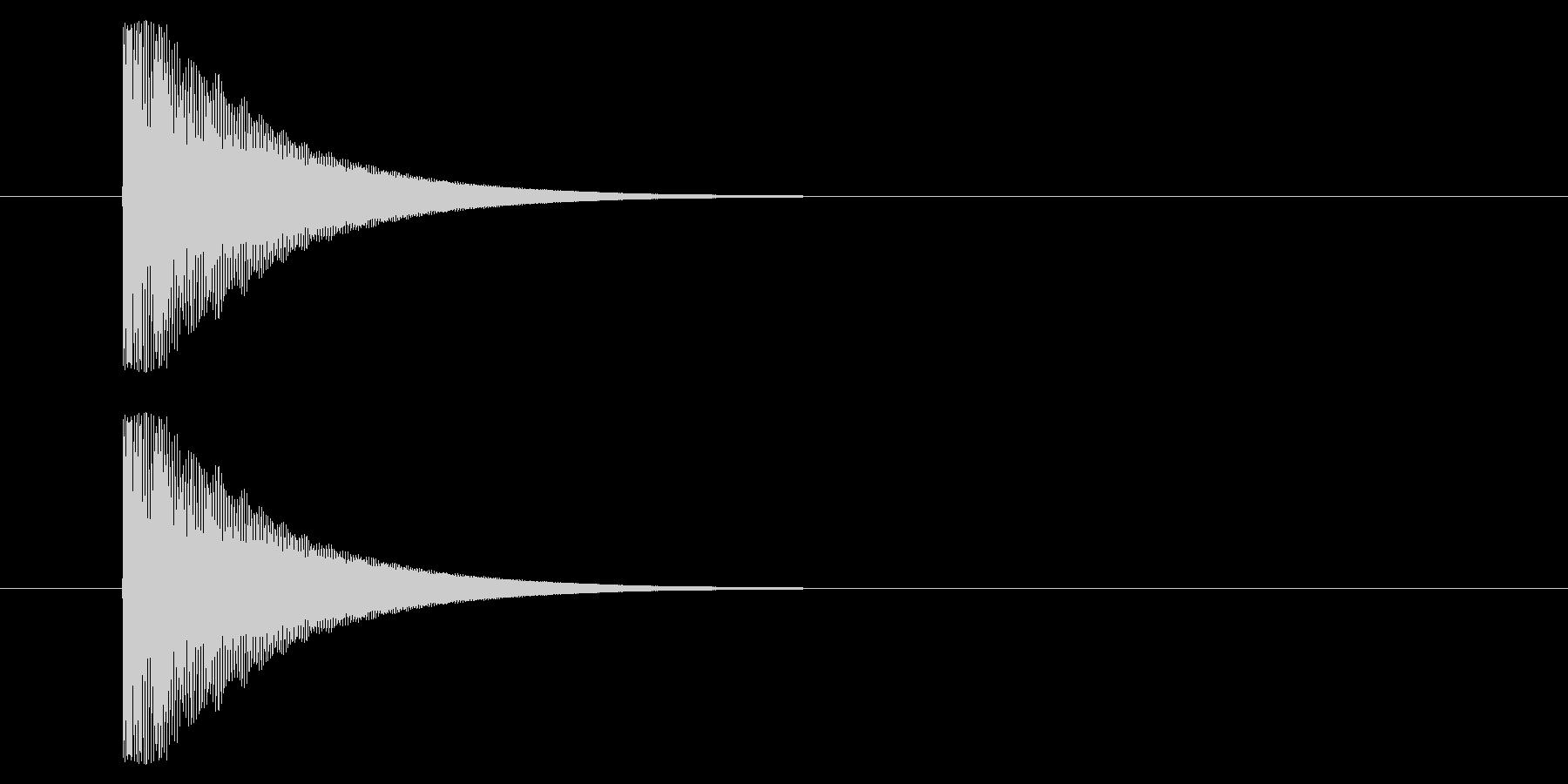 メタルヒットパルスヒットタイプ1バ...の未再生の波形