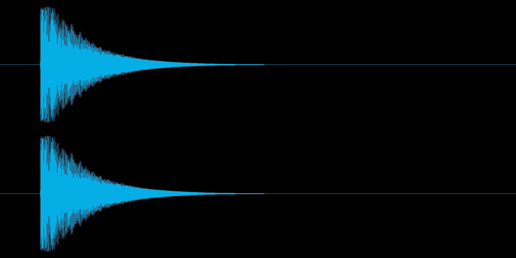 メタルヒットパルスヒットタイプ1バ...の再生済みの波形