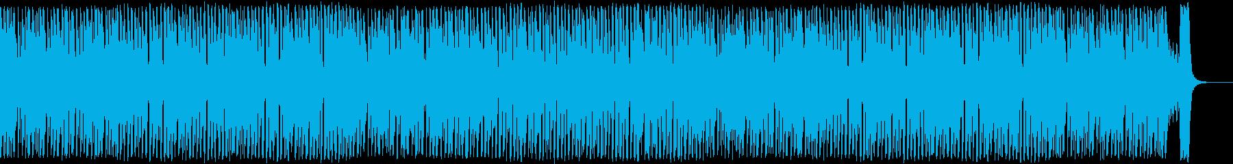 明るく爽やか!ゲーム向け王道日常系BGMの再生済みの波形