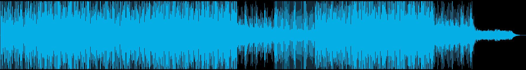 革新的で明るくアクティブなサウンドの再生済みの波形