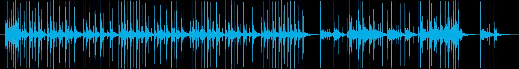 タップダンスのリズムのみ。CM、VP用の再生済みの波形