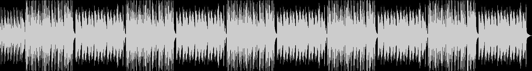 ほのぼのしたトイピアノがかわいいBGMの未再生の波形