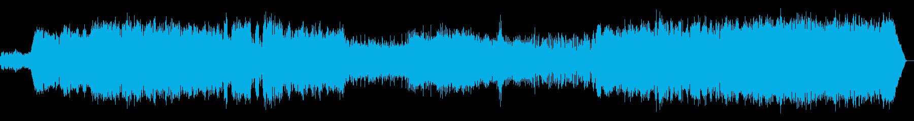 カノン五重奏・ストリングスアレンジの再生済みの波形