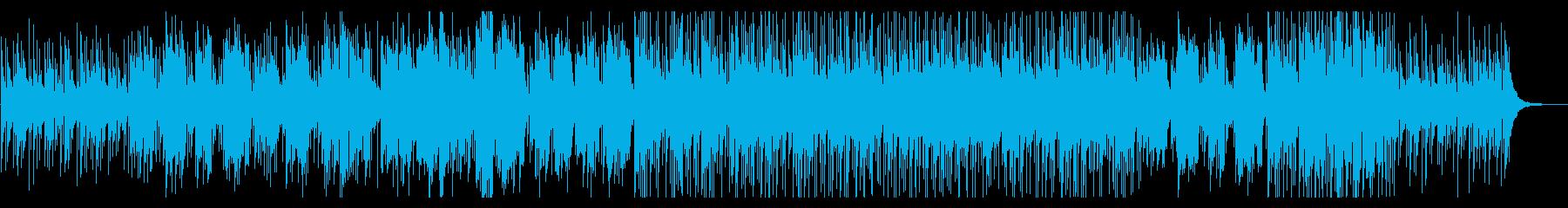フルート 暖かく柔らかなバラードの再生済みの波形