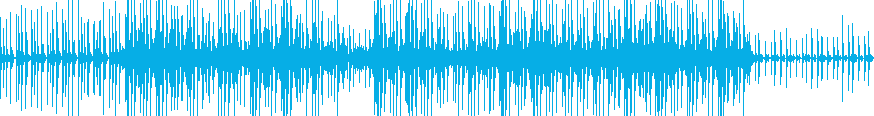 ティーン ポップ テクノ 可愛い ...の再生済みの波形