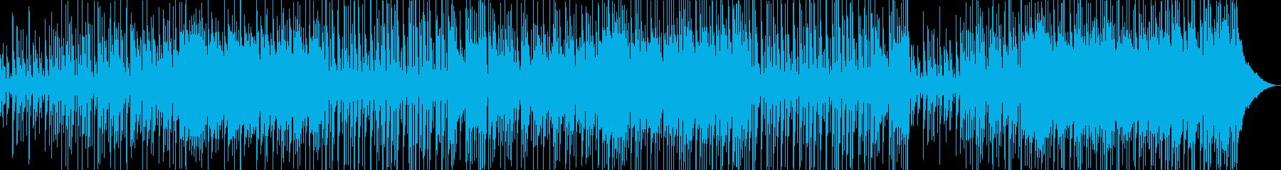 刻まれるリズムが心地よいポップロックの再生済みの波形