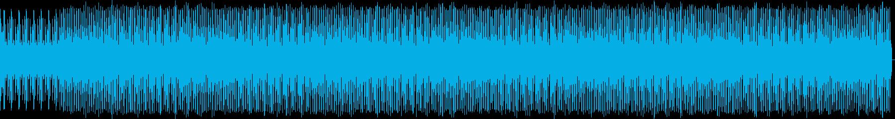 最小限。溝入れ。の再生済みの波形