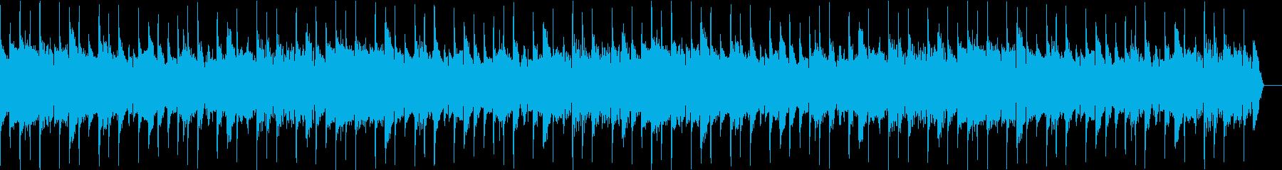 感動の回想シーンを演出するエレキギター2の再生済みの波形