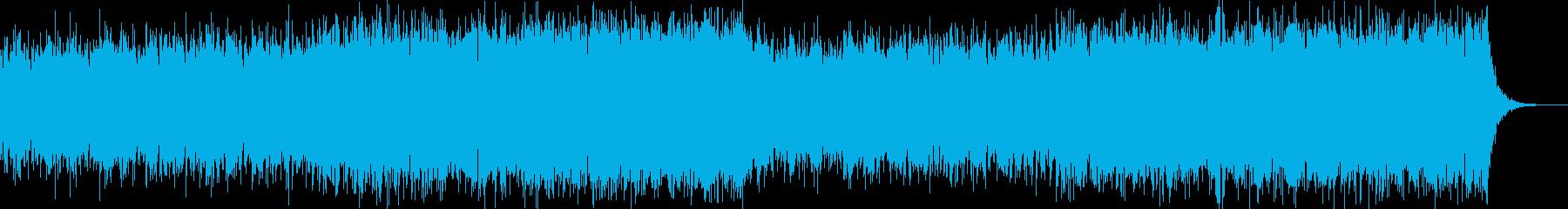 無機質/クール/近未来/テクスチャ/映像の再生済みの波形