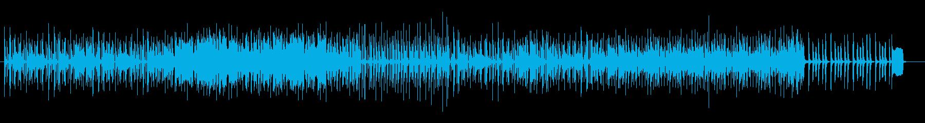コミカルで明るいBGMの再生済みの波形