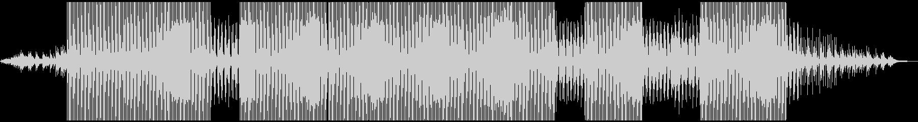 スモーキーでクールなダブテクノの未再生の波形