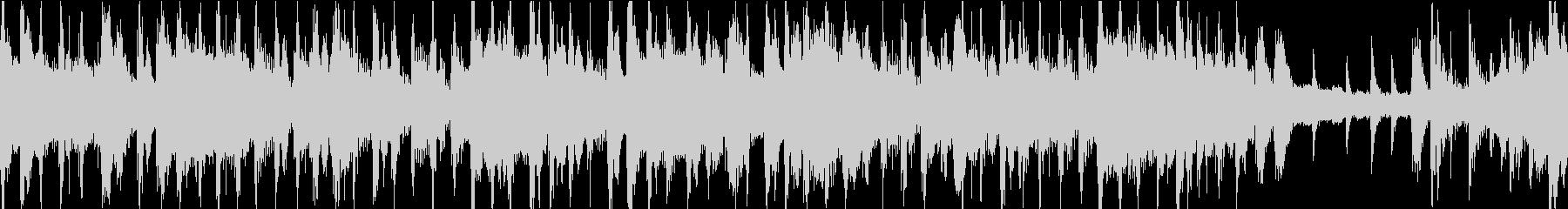 ジャジーでお洒落なBGM ループ仕様の未再生の波形