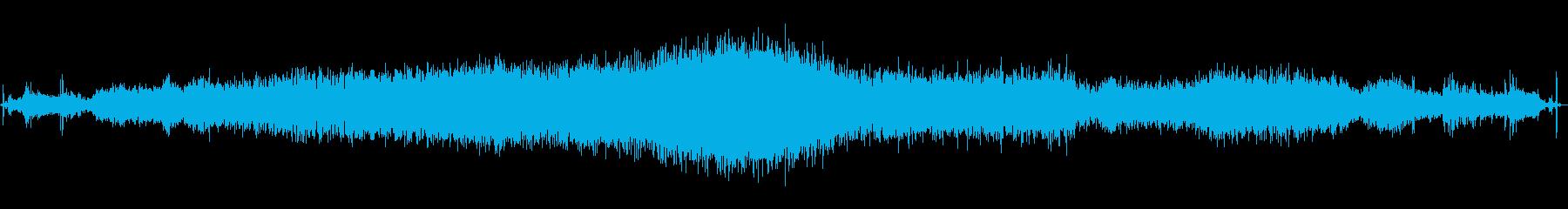 レンジローバー:インテリア:スター...の再生済みの波形