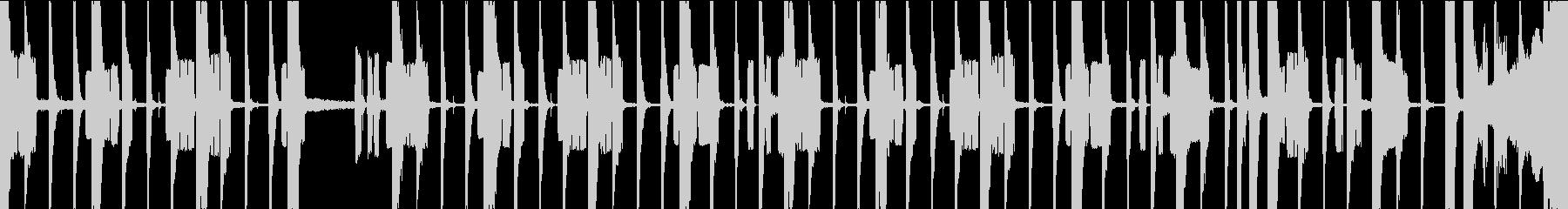 レコード風なLo-fiシンセのファンクの未再生の波形