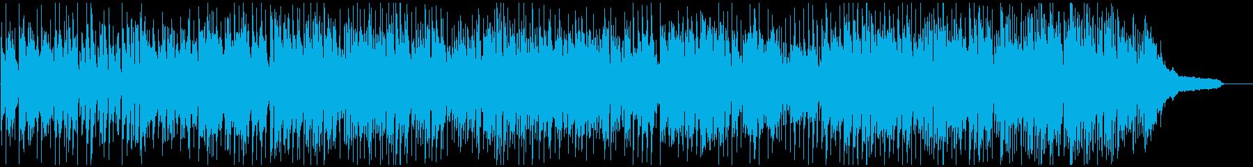 ファンキーなアルトサックスのクラブジャズの再生済みの波形
