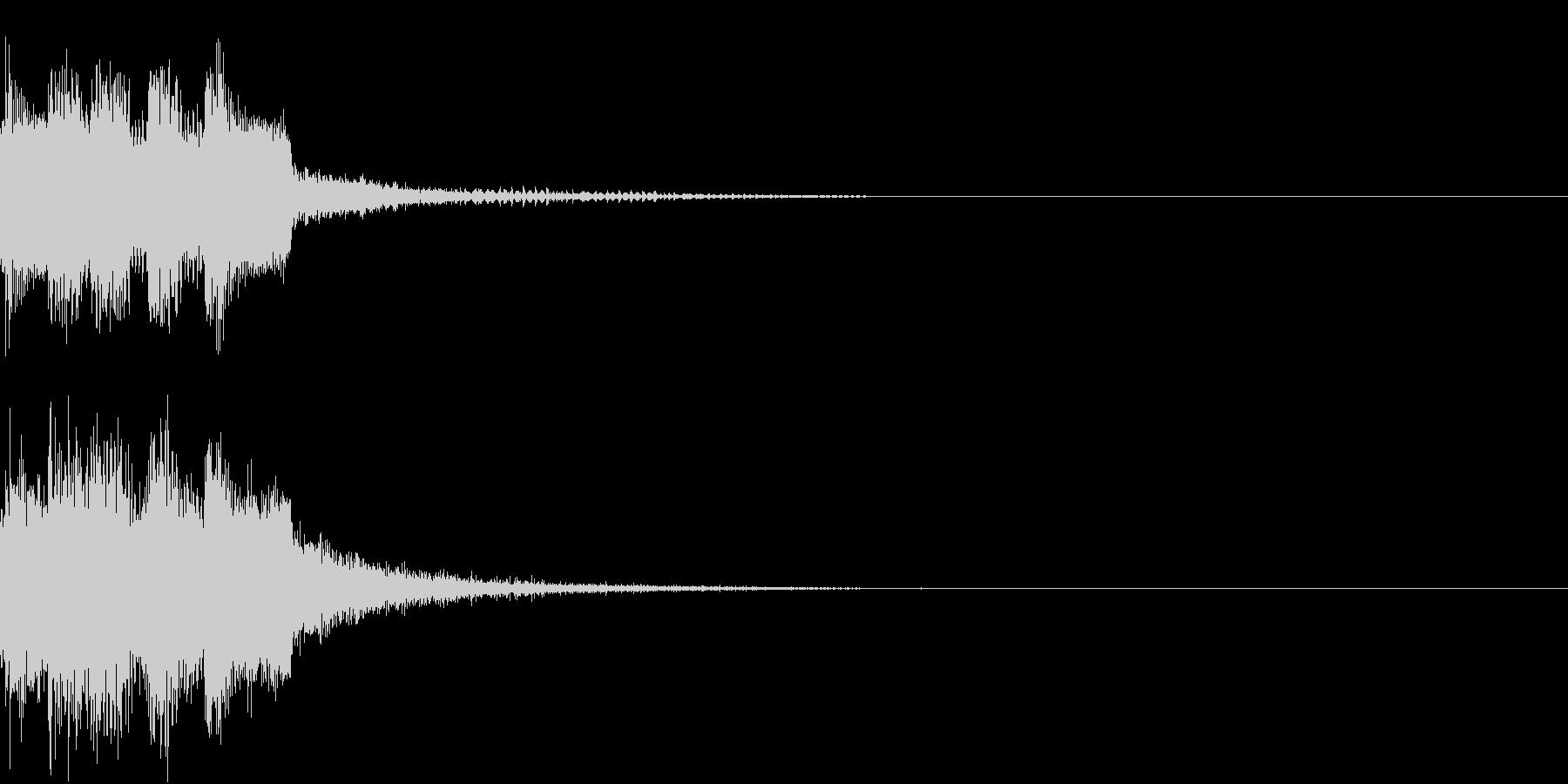 レベルアップ アイテム ゲット 発見の未再生の波形