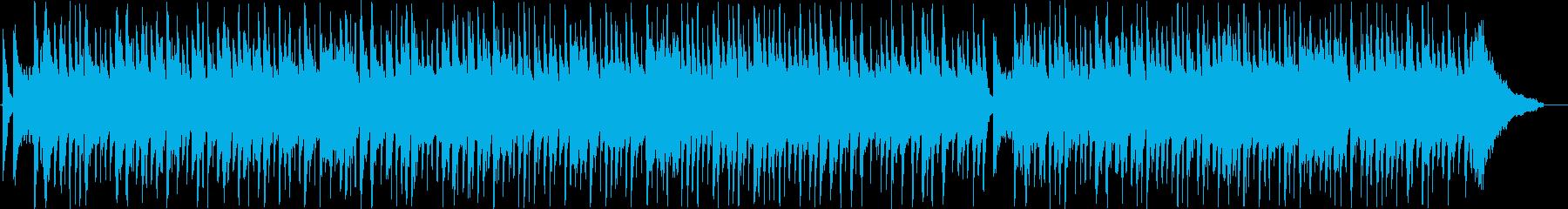トロピカルなシンセ・打楽器などのサウンドの再生済みの波形
