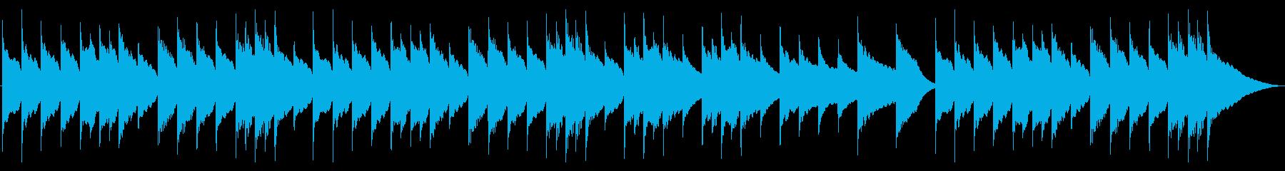 アレグロ オルゴールの再生済みの波形