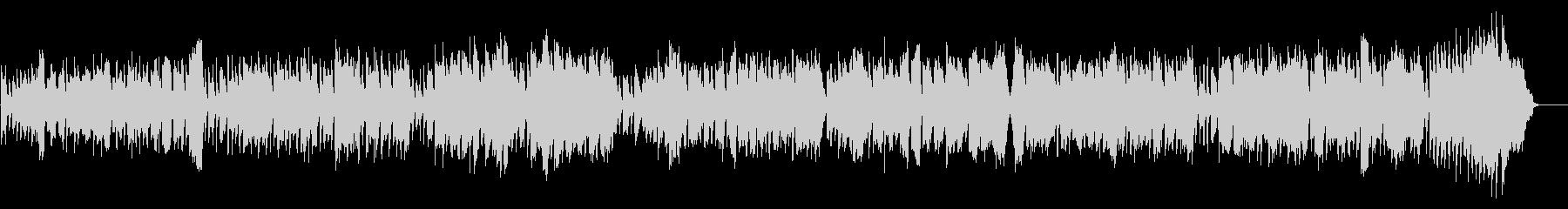 シンプルなワルツの未再生の波形
