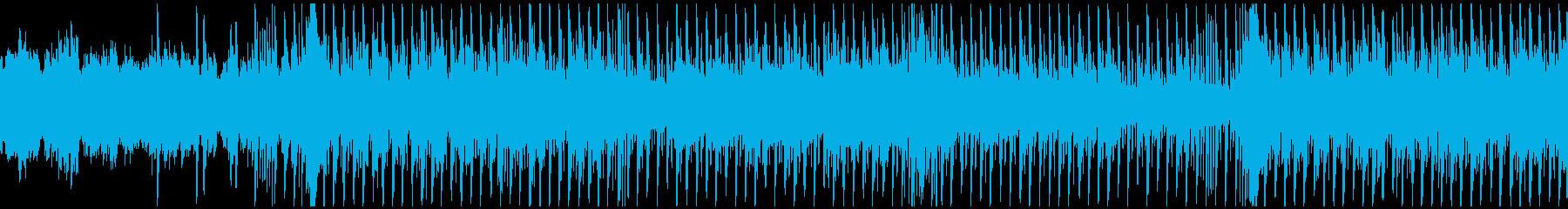 テンポの良いハウス【ループ素材系】の再生済みの波形