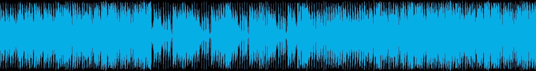 クールで大人な雰囲気のラウンジサウンドの再生済みの波形