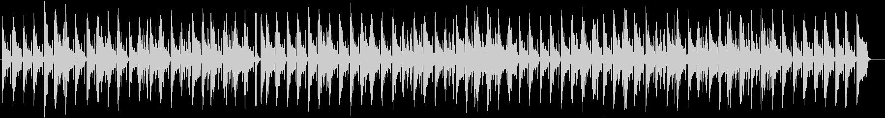 かわいいスローテンポのピアノ楽曲の未再生の波形