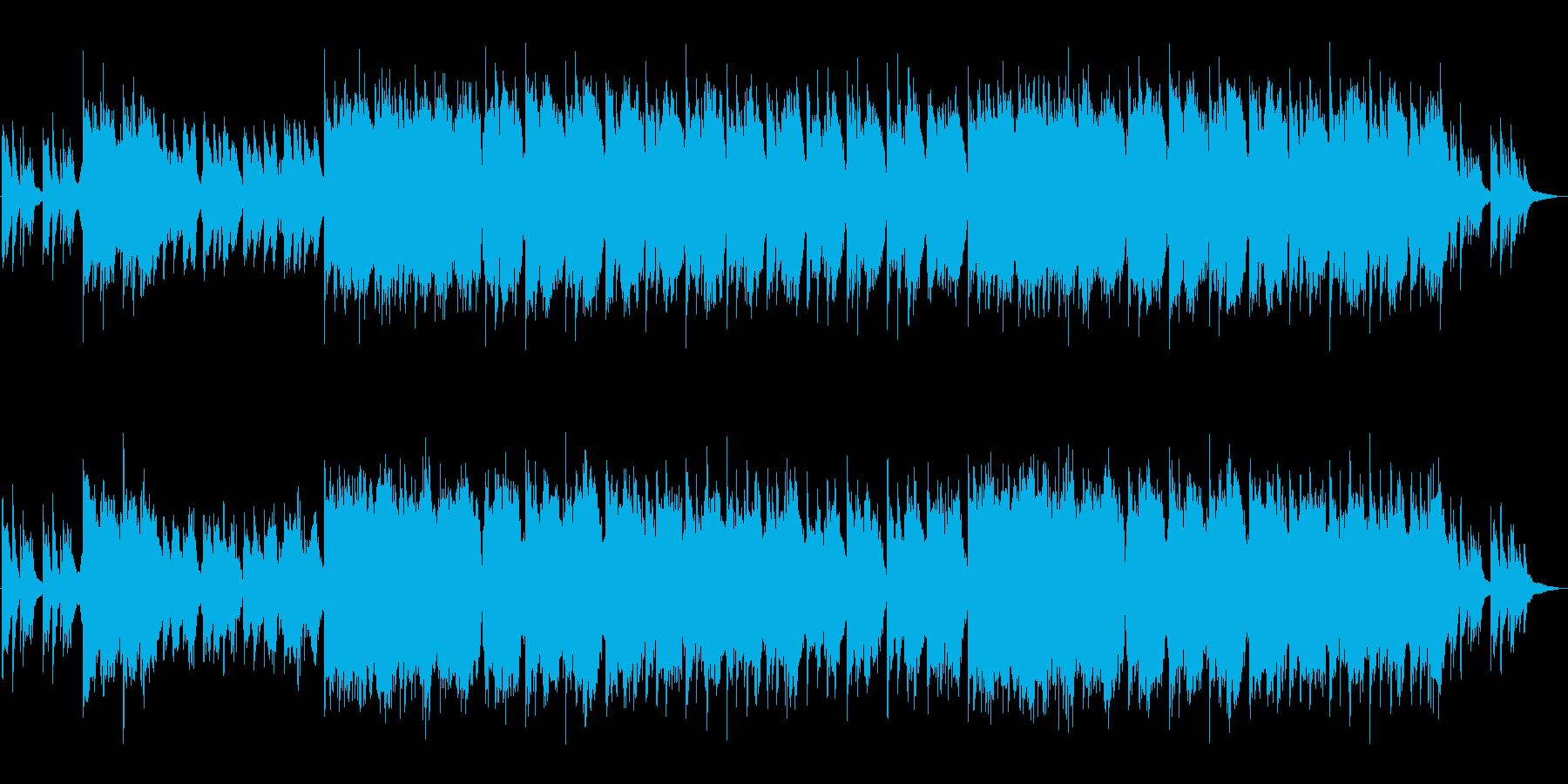 生演奏尺八・和の心と情緒を感じるバラードの再生済みの波形