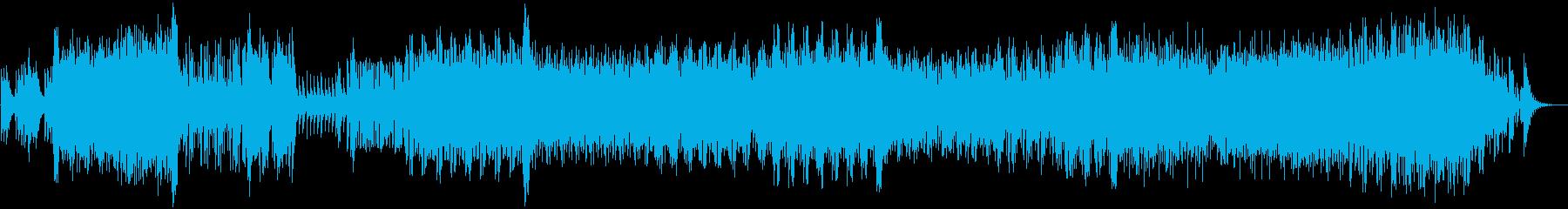 重厚でダイナミックなテクノの再生済みの波形