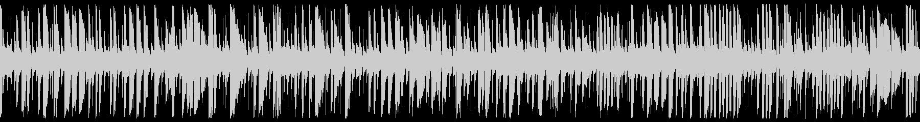 Energetic and fast jazz piano BGM (loop)'s unreproduced waveform