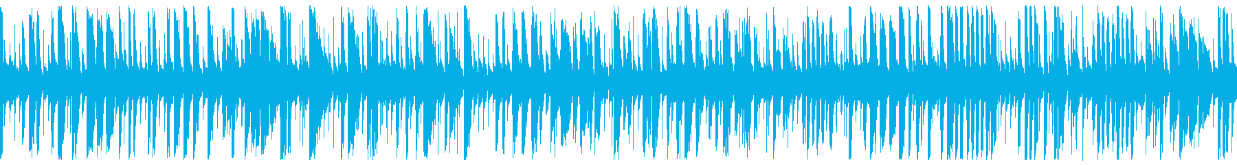 Energetic and fast jazz piano BGM (loop)'s reproduced waveform