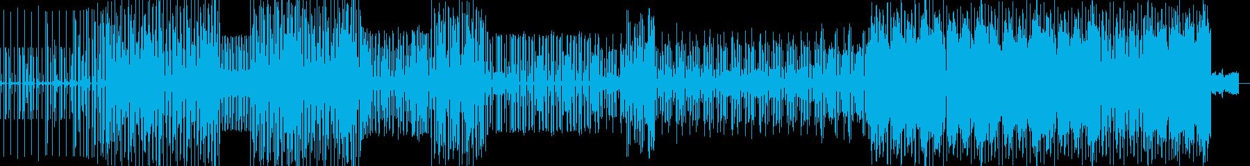 展開性のあるHIPHOPインストの再生済みの波形