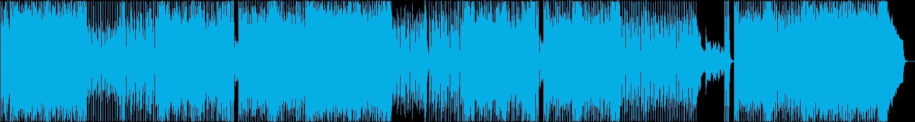 オープニング・爽やかポップなBGMの再生済みの波形