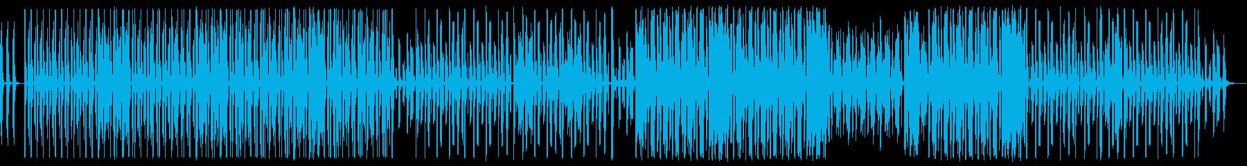 声だけで作られたビートの再生済みの波形