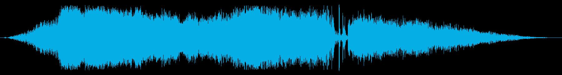 【レース06】ド迫力のエンジン効果音!の再生済みの波形