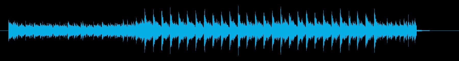 【ピアノ】爽やか ダンス【ラジオ】の再生済みの波形