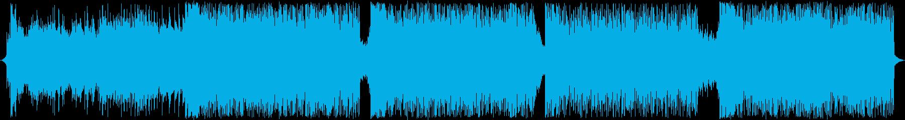 戦闘バトル曲!情熱的なメロディ!の再生済みの波形