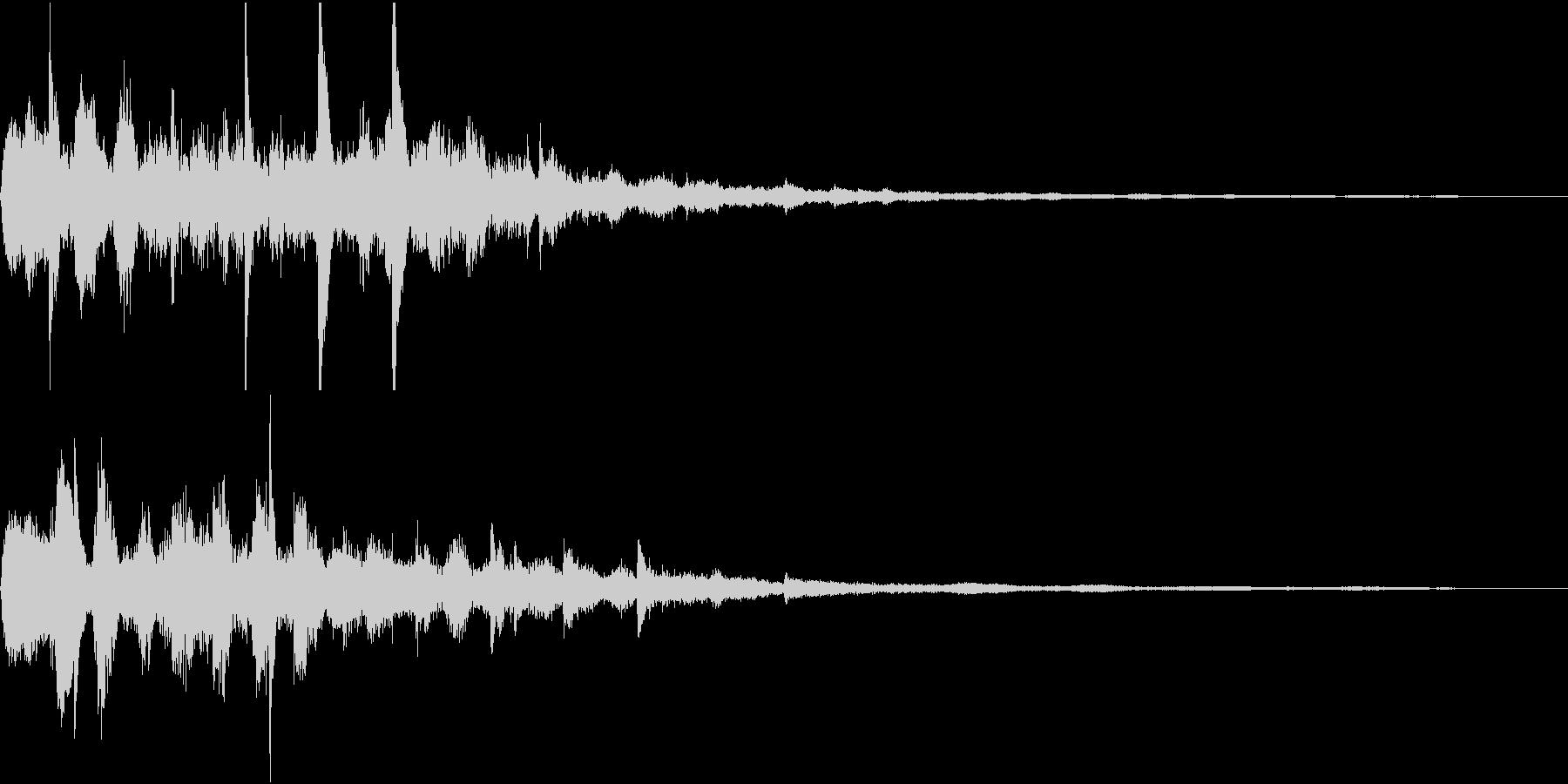 未来系スタート音01(ひゅー)の未再生の波形