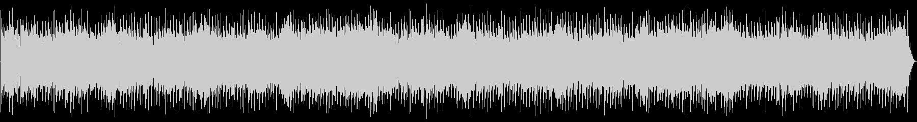 高騰する弦楽器のメロディ、グロック...の未再生の波形