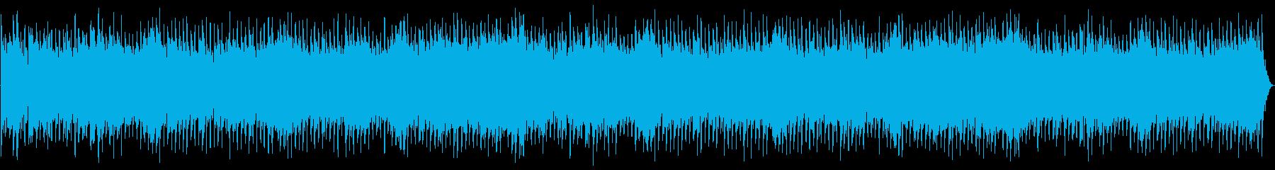 高騰する弦楽器のメロディ、グロック...の再生済みの波形