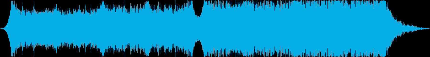 企業VPや映像93、オーケストラ、壮大bの再生済みの波形