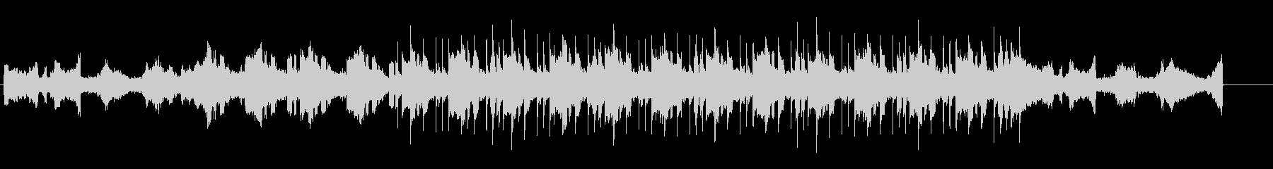 ノスタルジックなアンビエント風BGMの未再生の波形