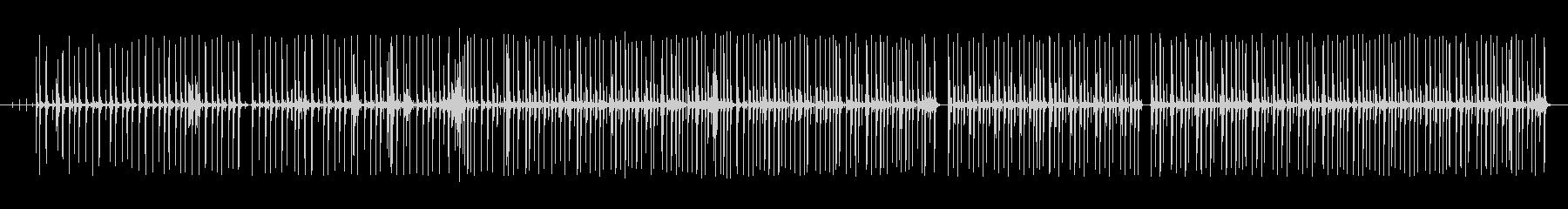 グルーブ16ビートpurdie風ドラム1の未再生の波形