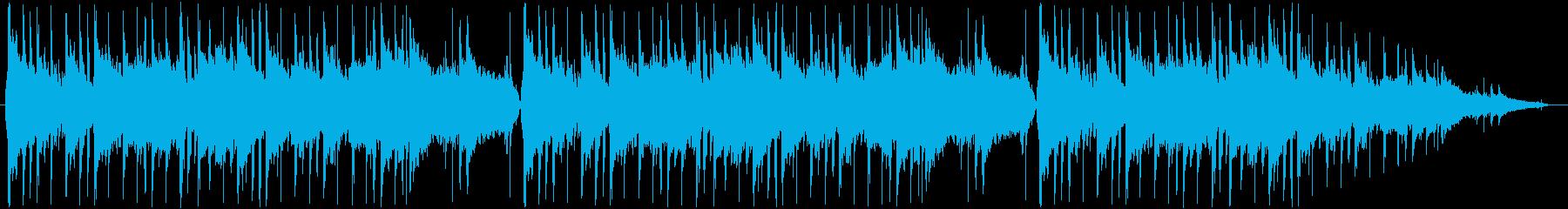 広告音楽。ループ。ハイテク、ダイナ...の再生済みの波形
