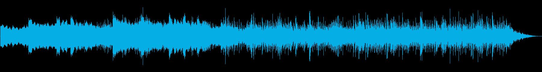 タイムラプス映像系幻想的壮大アンビエントの再生済みの波形