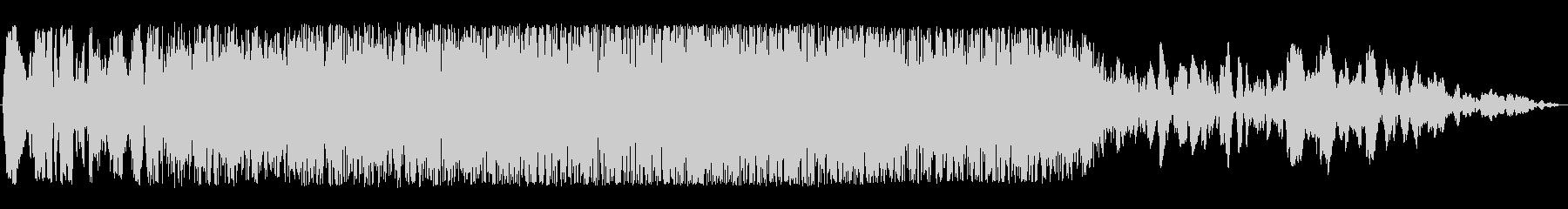 通過音(宇宙船、不思議な物体、神秘的)の未再生の波形
