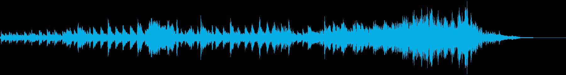 怪しいエスニックなバイオリンのフレーズ3の再生済みの波形